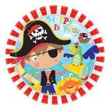 "Pappteller ""Kleiner mutiger Pirat"" 8er Pack"