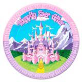 Pappteller Märchen-Prinzessin 8er Pack