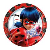 Pappteller Miraculous - Ladybugs Abenteuer 8er Pack