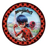 "Pappteller ""Miraculous"" 8er Pack"