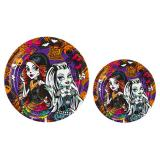 "Pappteller ""Monster High Gruselspaß"" 8er Pack"