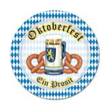 "Pappteller ""Oktoberfest - Ein Prosit"" 8er Pack"