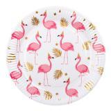 "Pappteller ""Party-Flamingo"" 6er Pack"