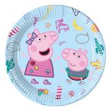 "Pappteller ""Peppa Pig"" 8er Pack"