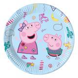 """Pappteller """"Peppa Pig"""" 8er Pack"""