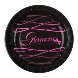 """Pappteller """"Pink Glamour"""" 10er Pack"""