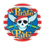 "Pappteller ""Piraten-Party"" 8er Pack"