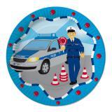 "Pappteller ""Polizei"" 8er Pack"