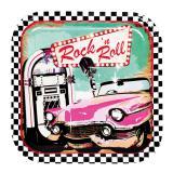 """Pappteller """"Rock 'n' Roll Party"""" 6er Pack"""