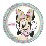 "Pappteller ""Sommerliche Minnie Mouse"" 8er Pack"