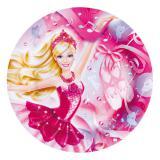 """Pappteller """"Barbie Ballerina"""" 8er Pack"""