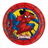 "Pappteller ""Ultimate Spiderman"" 8er Pack"