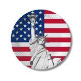 """Pappteller """"USA"""" 10er Pack"""