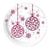 """Pappteller """"Weihnachtszauber"""" 8er Pack"""