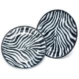 "Pappteller ""Zebra-Look"" 10er Pack"
