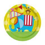 "Pappteller ""Zirkus Fisher-Price"" 8er Pack"