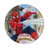 "Pappteller ""Spiderman - Web Warriors"" 8er Pack"