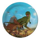 "Pappteller ""Dinosaurierleben"" 8er Pack"