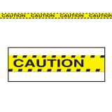 """Party-Absperrband """"Caution"""" 6 m"""