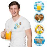 "Party-Buttons ""Oktoberfest"" 4er Set"