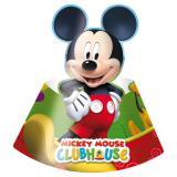 """Party-Hütchen """"Micky Maus Clubhaus"""" 6er Pack"""