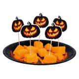 "Party-Picker ""Creepy Pumpkin"" 12er Pack"