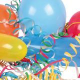 "Party-Set ""Luftballons & Luftschlangen"" 27-tlg."