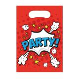 "Party-Tütchen ""Boom-Party"" 6er Pack"