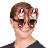 Partybrille Grusel Sarg