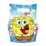 """Geschenk-Tüten """"SpongeBob Schwammkopf"""" 6er Pack"""