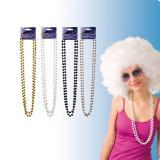 Perlenkette 38 cm 2er Pack