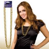 Perlenkette 38 cm 2er Pack-gold