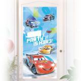 "Personalisierbare Türdeko ""Aufregende Cars"" 150 x 76 cm"