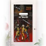 """Personalisierbare Türdeko """"Star Wars Rebels"""" 76 x 152 cm"""