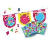 """Personalisierbare Wimpel-Girlande """"Candy"""" 4 m"""