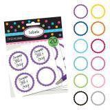 Personalisierbare Sticker 20er Pack