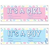 """Personalisierbares Banner """"It's a baby"""" 150 cm"""