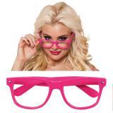 "Pinke Brillen ""Durchblick"" 4er Pack"