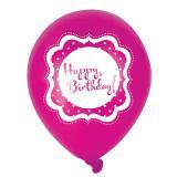 "Luftballons ""Pretty Pink"" 6er Pack"
