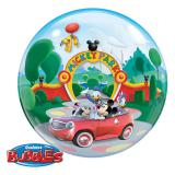 "Plastik-Luftballon ""Mickey Mouse"" mit Glanztuch"