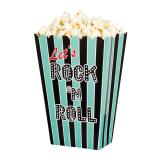 "Popcorn-Tüten ""Rock 'n' Roll Party"" 4er Pack"