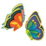 "Raumdeko ""Bunte Schmetterlinge"" 61 cm 2er Pack"