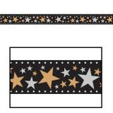 """Raumdeko Filmstreifen """"Stars & Sternchen"""" 46 cm x 7,6 m"""