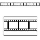 """Raumdeko """"Filmstreifen"""" 12er Pack 95 cm"""