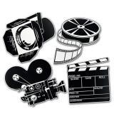 Raumdeko Klassisches Filmequipment 41 cm 4-tlg.