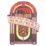 "Raumdeko Retro Jukebox ""Rockin 50s"" 88 cm"