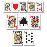 """Raumdeko """"Spielkarten"""" 13 cm 10er Pack"""