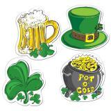 "Raumdeko ""St. Patrick's Day"" 4-tlg."
