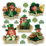 "Raumdeko ""St. Patrick's Day"" 14-tlg."