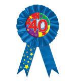 Rosetten-Orden 40. Geburtstag 15cm